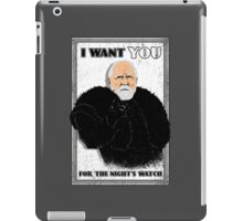 Defend the Realm: Join the Night's Watch iPad Case/Skin