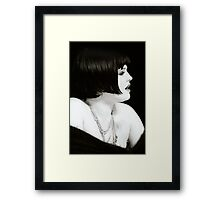 Kelly Osbourne - 2002 - Louise Brooks Bob Framed Print