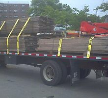 McGuire Trucking Service - new york city flatbed by brian744