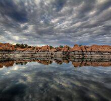 Overcast Over Granite by Bob Larson