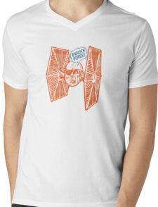 Tigh Fighter Mens V-Neck T-Shirt