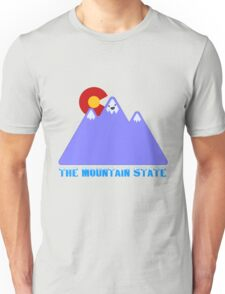 """Colorado """"The Mountain State"""" Unisex T-Shirt"""