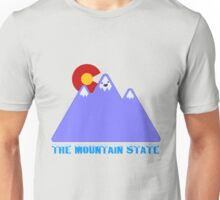 "Colorado ""The Mountain State"" Unisex T-Shirt"