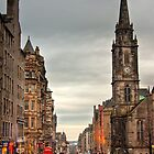 Early Evening Along the Royal Mile by Christine Smith
