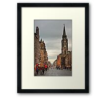 Early Evening Along the Royal Mile Framed Print