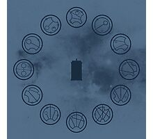 Gallifreyan Clock Photographic Print