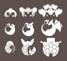Pokemon Iconography Light by gallantdesigns