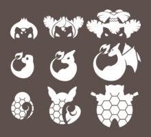 Pokemon Iconography Light by gallantdesigns