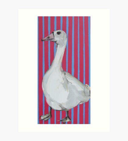 Mrs Goose Art Print