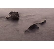 Water over Rocks - Sandgate Photographic Print