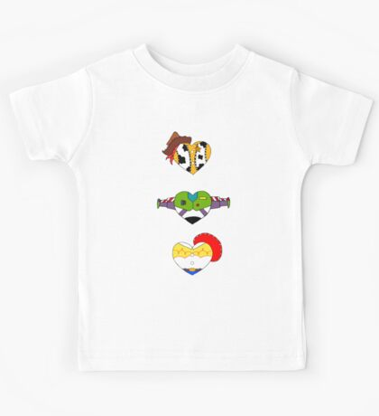 I Love Toy Story Kids Tee