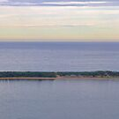 Tombolo - Palm & Station Beaches - Panorama | Sydney | NSW | AUSTRALIA by Bryan Freeman