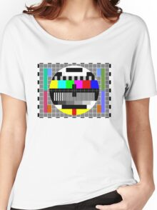 ABC TV Test Pattern Women's Relaxed Fit T-Shirt