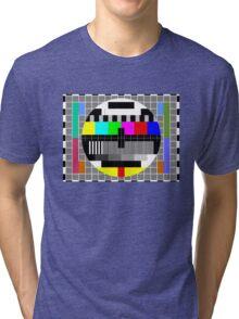 ABC TV Test Pattern Tri-blend T-Shirt