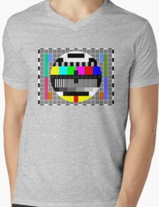 ABC TV Test Pattern Mens V-Neck T-Shirt