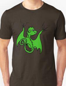 Green Baby Dragon Rider T-Shirt