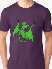 Green Baby Dragon Rider T-Shirt