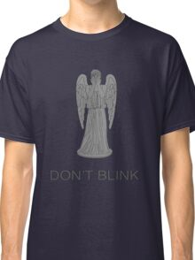 Weeping Angel -Don't Blink Classic T-Shirt