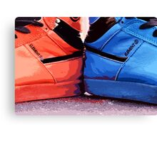 Element Kicks Canvas Print