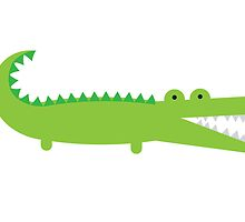 Green Alligator by imaginarystory