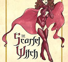 The Scarlet Witch by Aortic-Inkwell