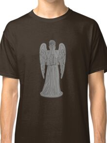 Single Weeping Angel Classic T-Shirt