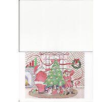 Taco Christmas Tree Photographic Print