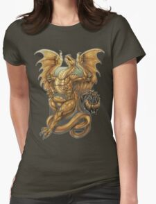 "Dragon  - ""Redemption Dragon"" Womens Fitted T-Shirt"