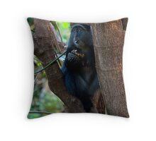Diadem Monkey Throw Pillow