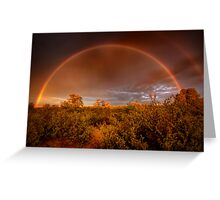 Rainbow Brush Greeting Card