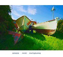 Boat Graveyard by reuphiri