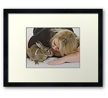 Brooke 4 Framed Print