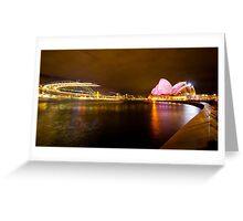 the landmark of sydney Greeting Card