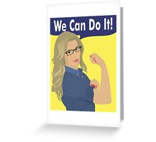 Felicity Can Do It! Greeting Card