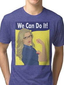 Felicity Can Do It! Tri-blend T-Shirt