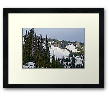 Rainier Skyline Framed Print