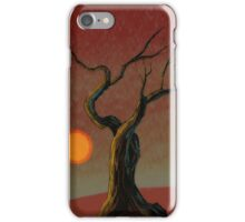 Red Sun iPhone Case/Skin