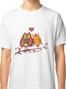 Fall in love Classic T-Shirt