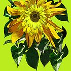 Cheery Sunflowers everywhere... * by DAdeSimone