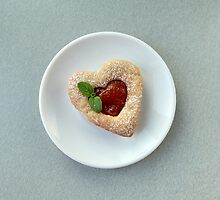 heart on a plate by mrivserg
