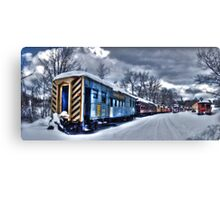 The Snow Train Canvas Print