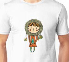 Chistmas tree girl Unisex T-Shirt