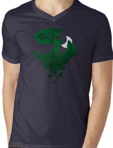Moonfall Mens V-Neck T-Shirt