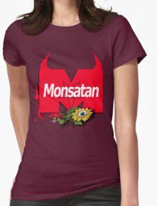Monsatan Womens Fitted T-Shirt