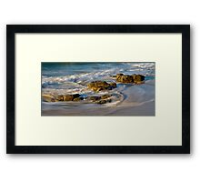 Noosa Rocks Framed Print
