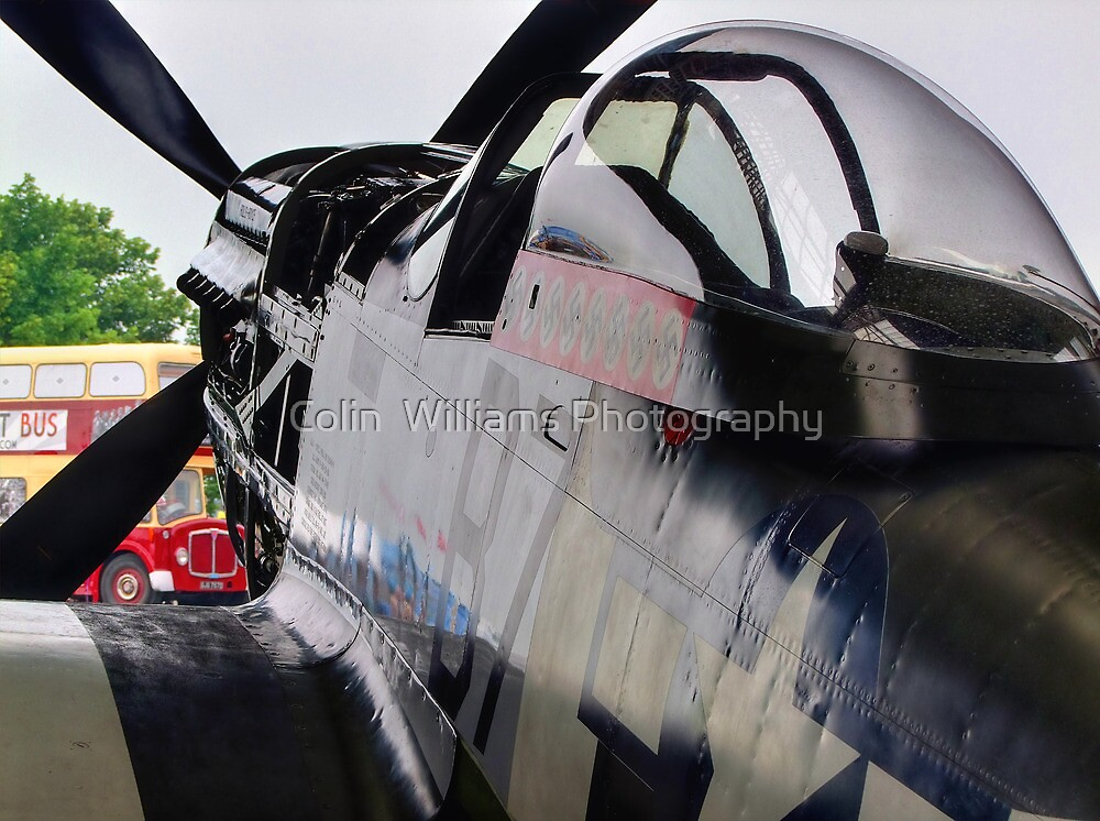 Frankie - Flying Legends 2013 - HDR by Colin  Williams Photography