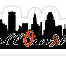 Fellowship O's Skyline Sticker