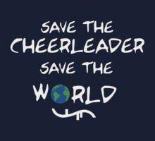 Save the cheerleader save the world // on dark colours by SallySparrowFTW