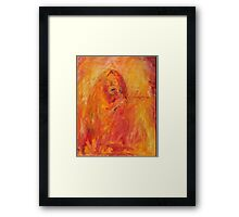 Janis Joplin by Judy Joy Jones Framed Print