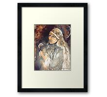 Mother Teresa by Judy Joy Jones Framed Print
